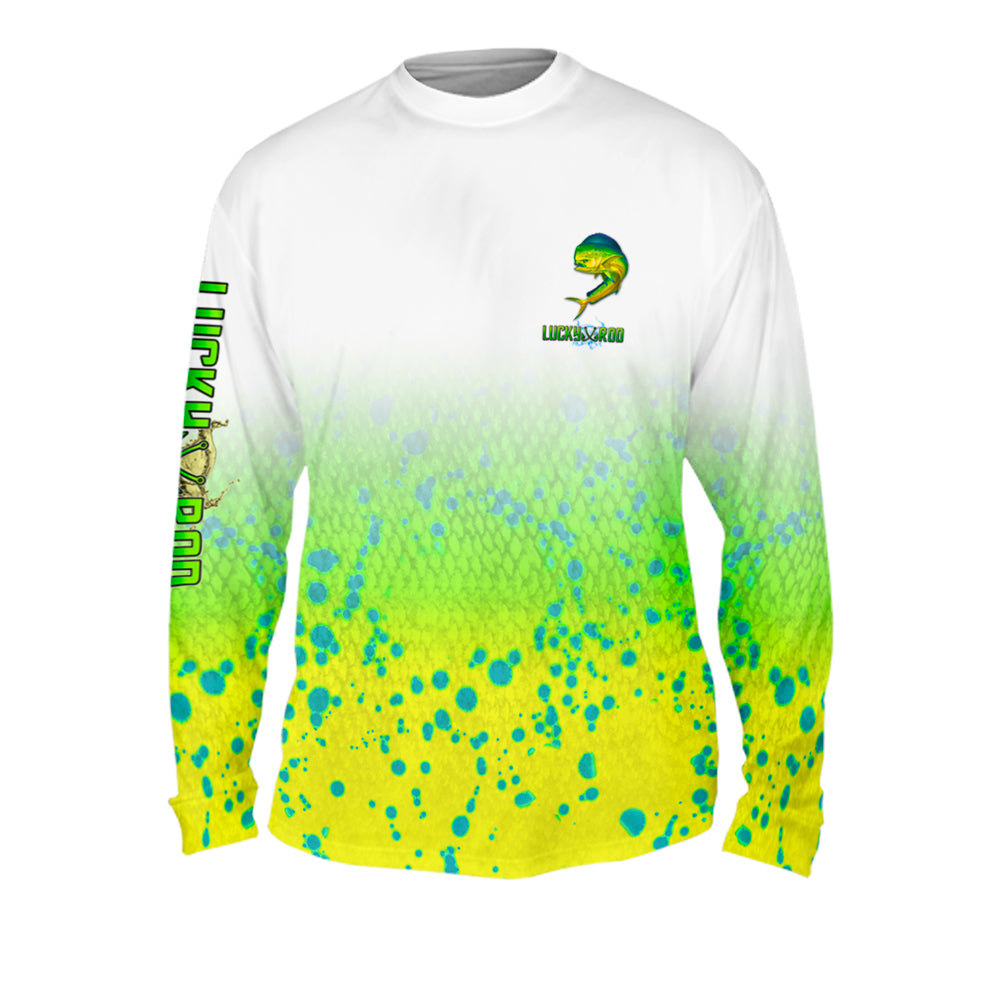 Mahi Fade Mens Performance Long Sleeve Allover