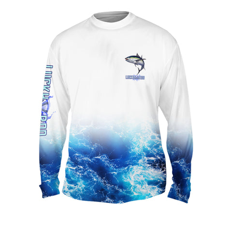 Rockin Tuna Mens Performance Long Sleeve Allover
