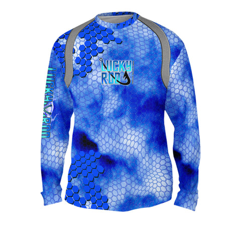 Digital Scales Mens Performance Long Sleeve Allover
