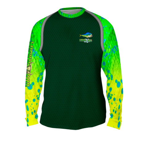 Mahi Fight Shadow Mens Performance Long Sleeve Allover