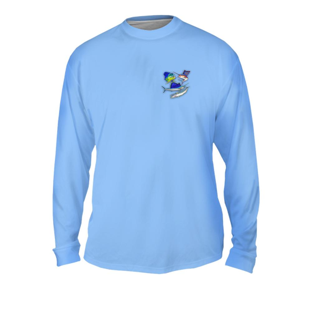 Funky Fish Group Mens Performance Long Sleeve