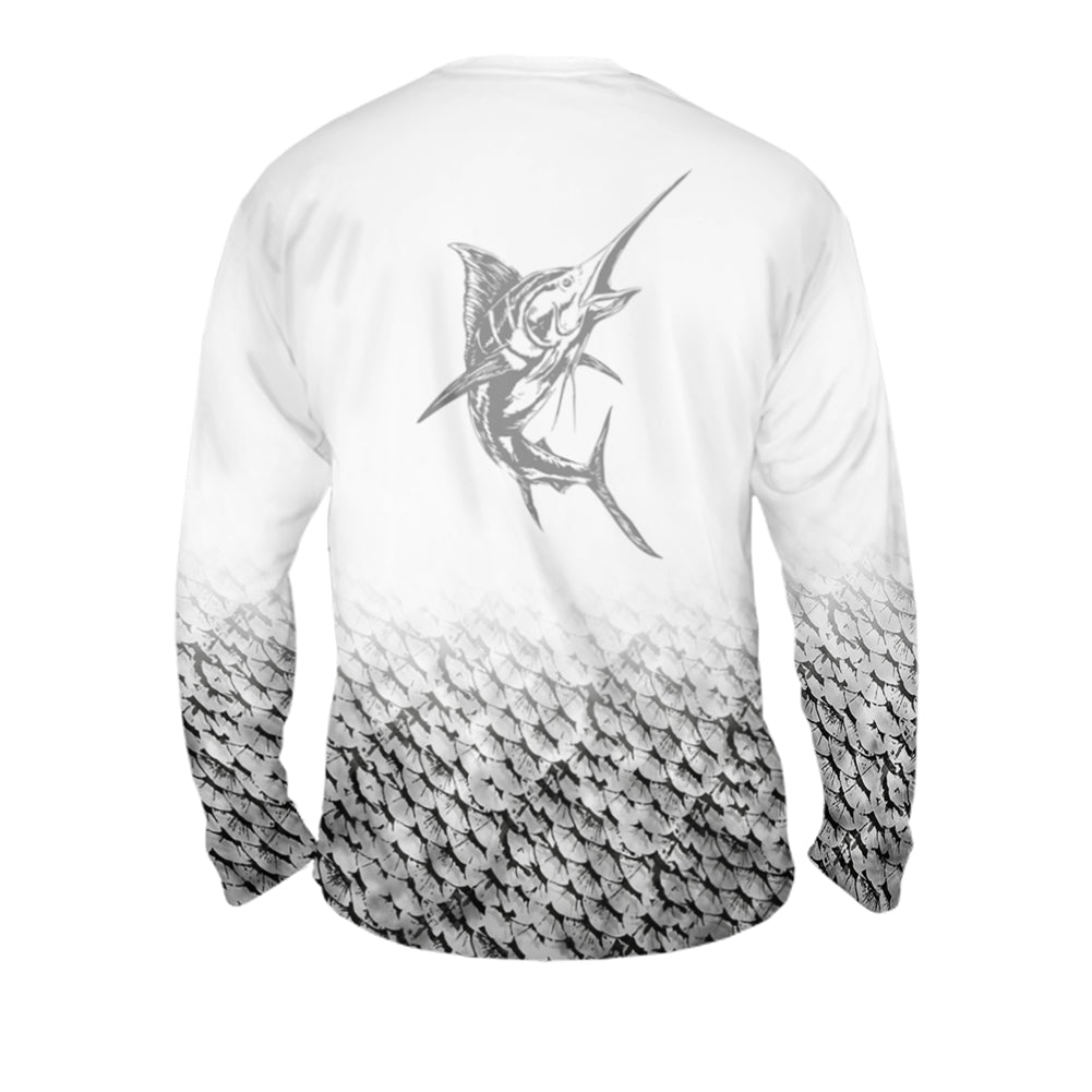 Marlin Cutting Edge Mens Performance Long Sleeve Allover