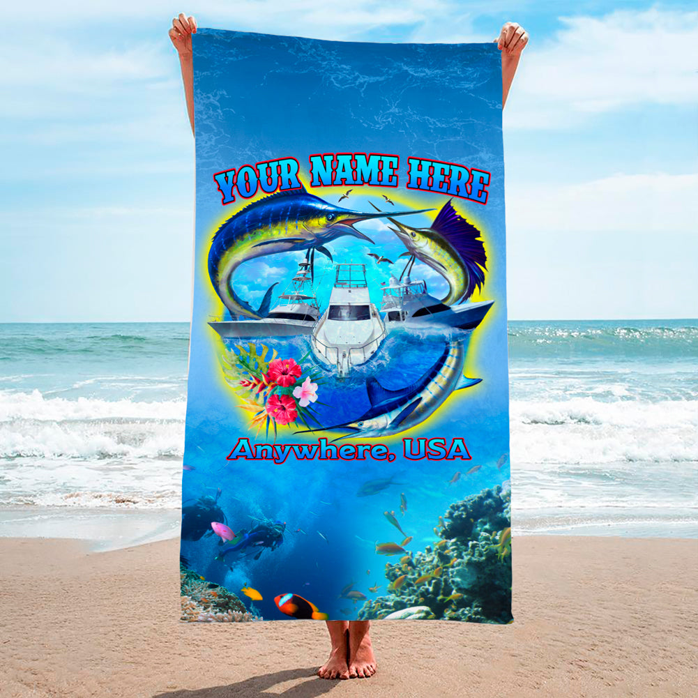 Offshore Friday Seas - Premium & Standard Towel