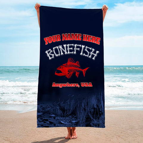 Bonefish Red - Premium & Standard Towel