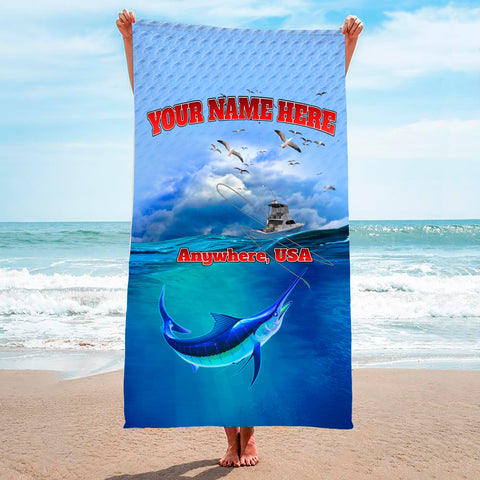 Thrill Marlin - Premium & Standard Towel