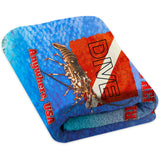 Lobster Dive - Premium & Standard Towel