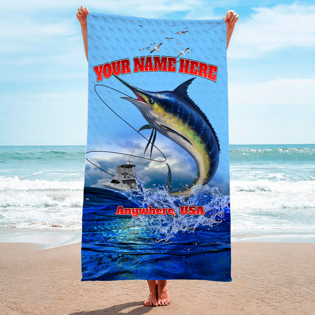 Lucky Day Marlin - Premium & Standard Towel