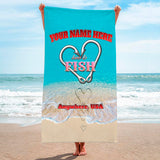 Love To Fish Scales - Premium & Standard Towel
