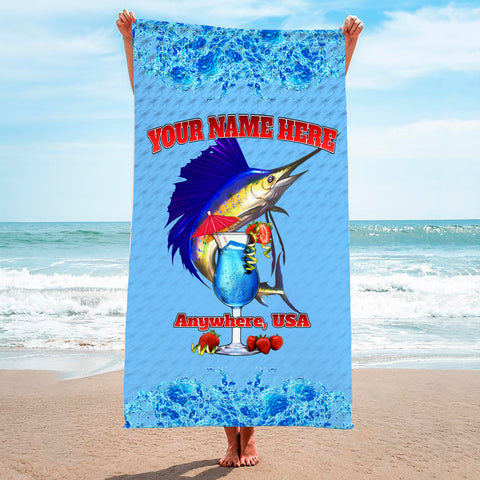 Sailfish Drink - Premium & Standard Towel