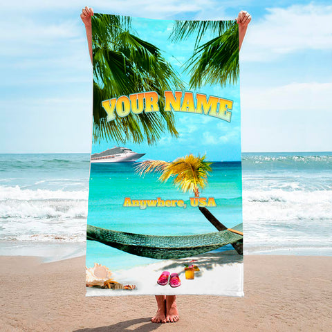 Taking It Easy Hammock - Premium & Standard Towel