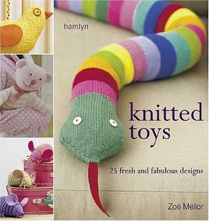 Knitted Toys 25 Designs - Zoe Mellor