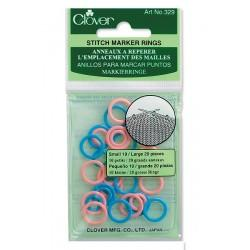 Stitch Ring Markers Small