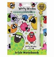 Wacky Wooly Notebook