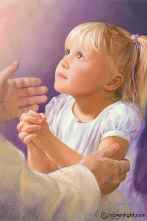 A Childs Prayer Art