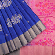 Royal Blue Soft Silk Saree