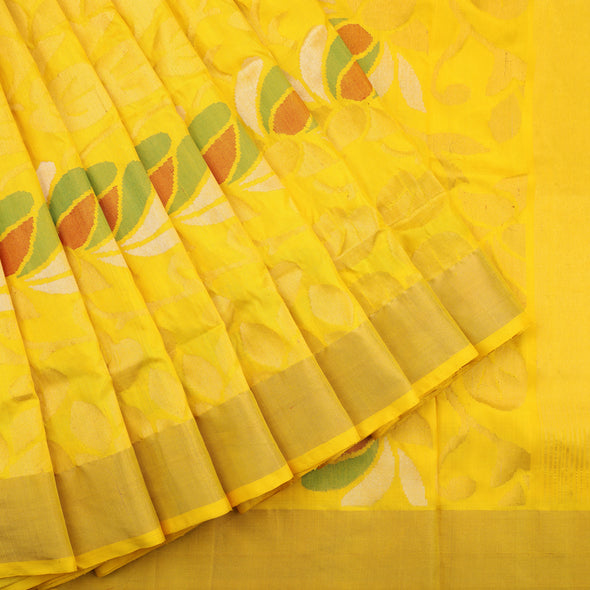 Golden Uppada Silk Saree