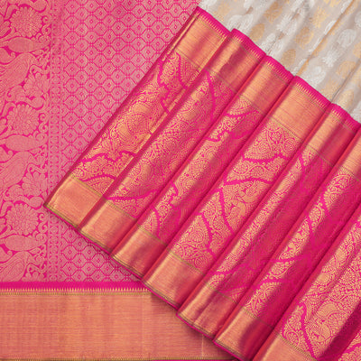 Bridal wear Kanchipuram silk saree