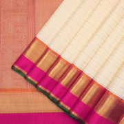Traditional Kanchipuram pure silk saree
