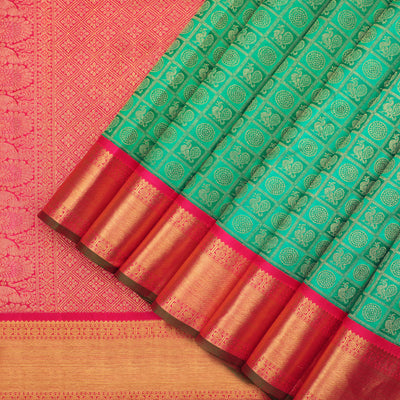 Pure zari Kanchipuram Silk saree