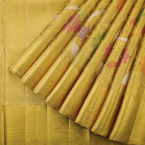 Gold tissue pure Kanjivaram saree