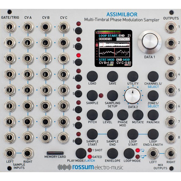 Rossum ASSIMIL8OR (Multi-Timbral Phase Modulation Sampler)
