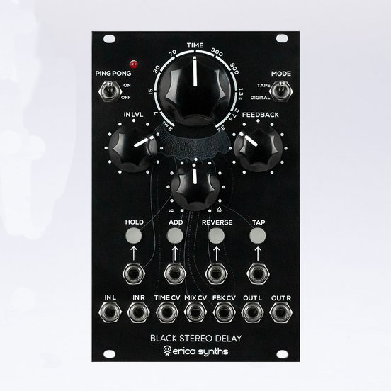 EricaSynths Black Stereo Delay