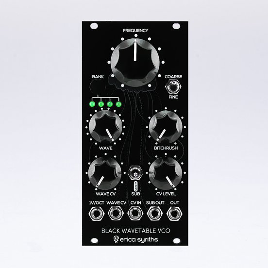 EricaSynths Black Wavetable VCO