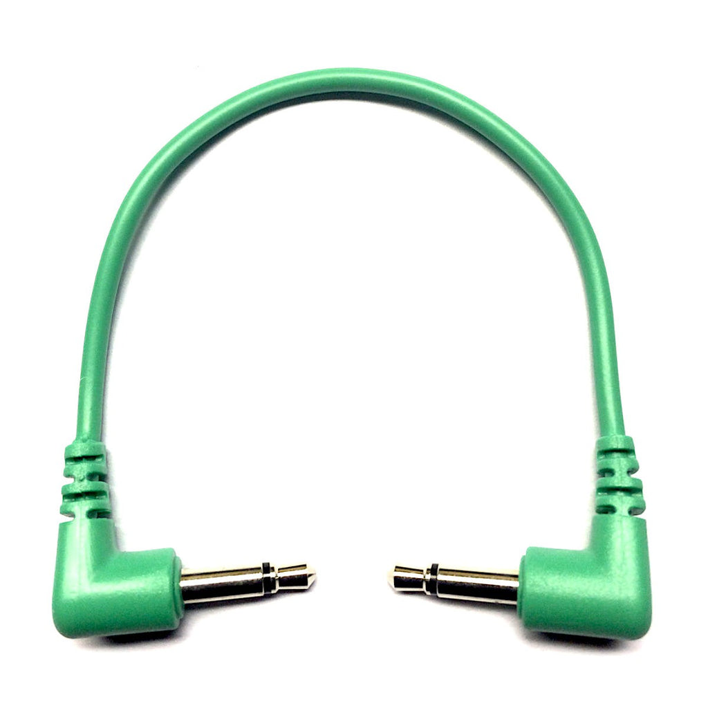 Tendrils Patch Cable - Emerald 10cm (6 Pack)