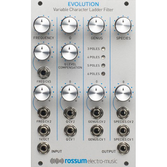 Rossum EVOLUTION (Variable Character Ladder Filter)