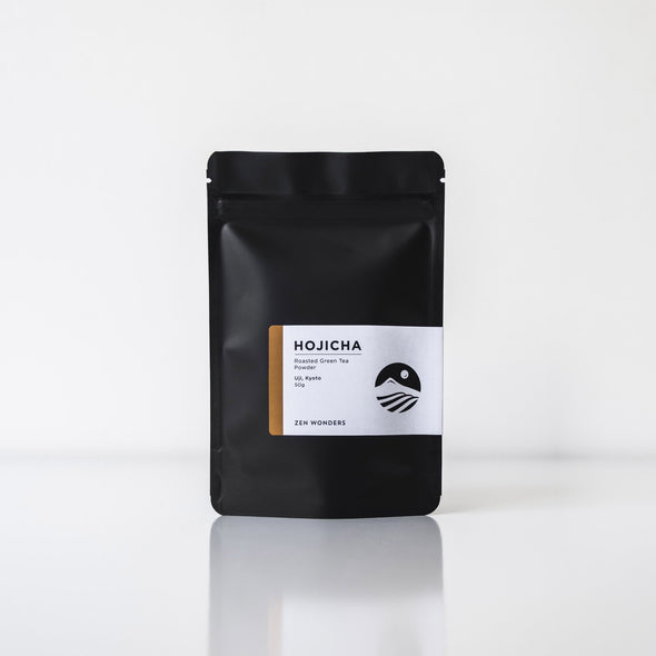 HOJICHA POWDER Roasted Green Tea 50g Bag