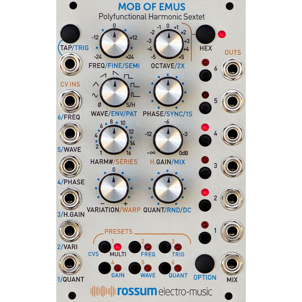 Rossum Electro-Music Mob Of Emus Pre-Order