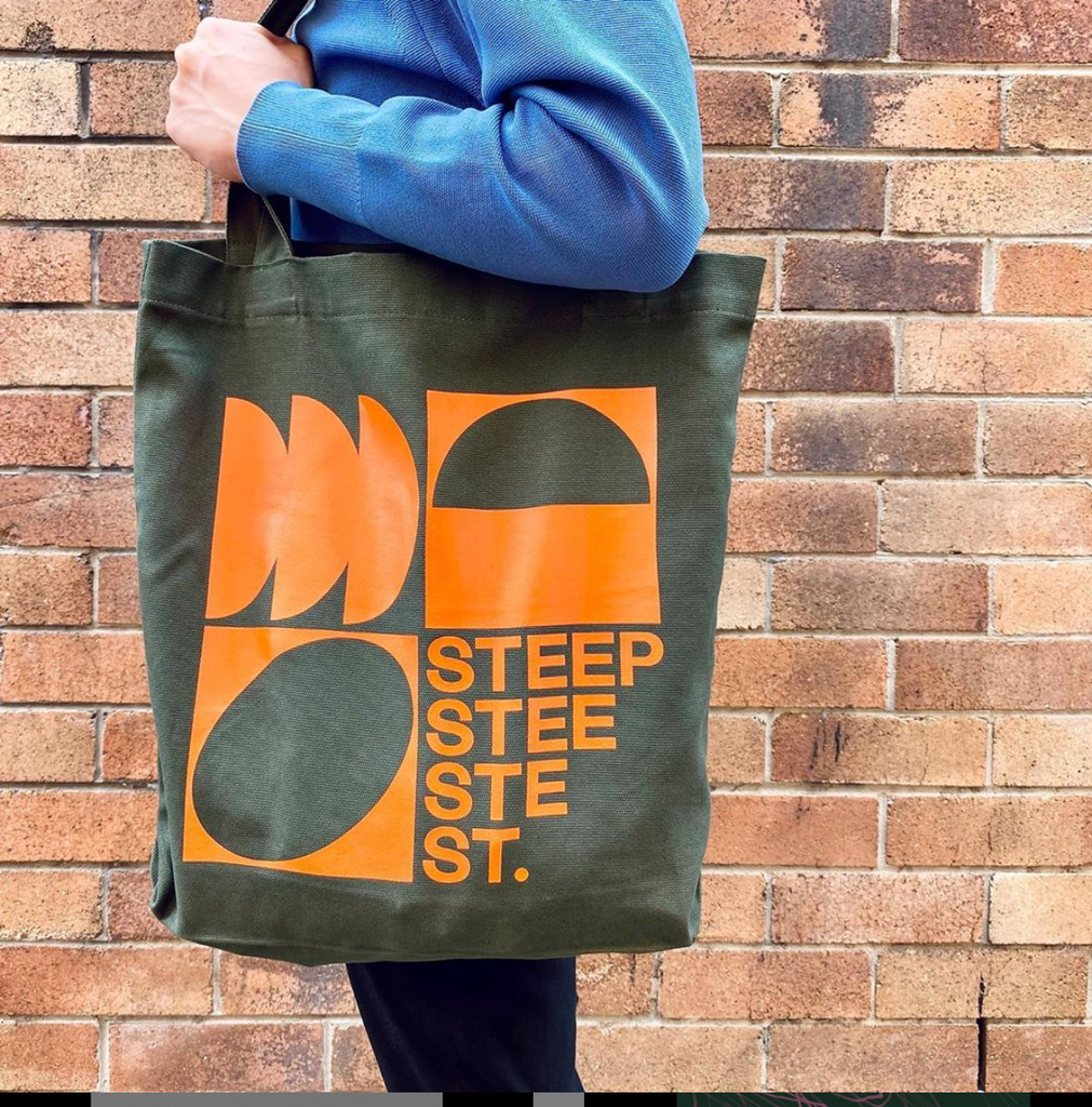 Steep St. Tote Bag