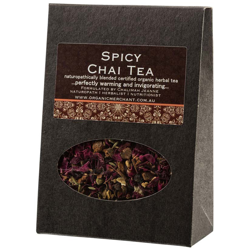 Spicy Chai Tea 100g Box
