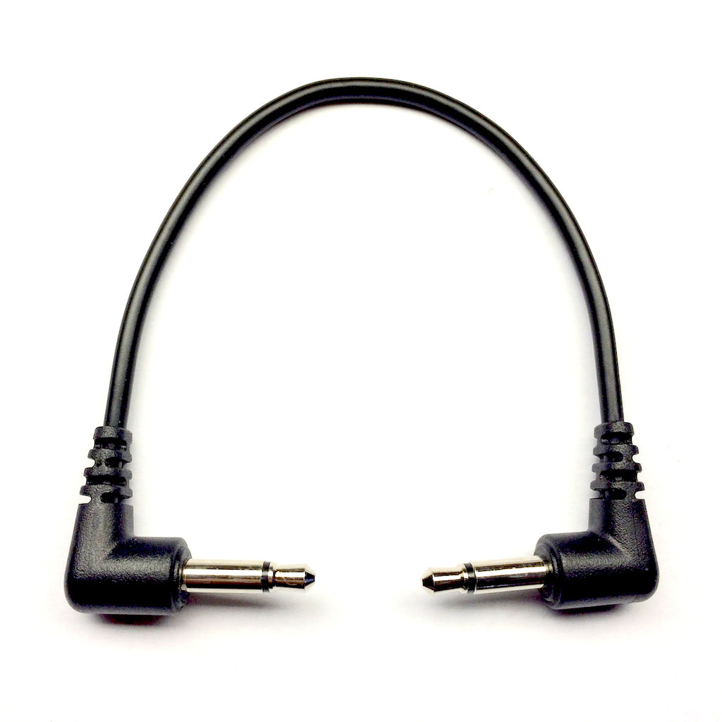Tendrils Patch Cable - Black 10cm (6 Pack)