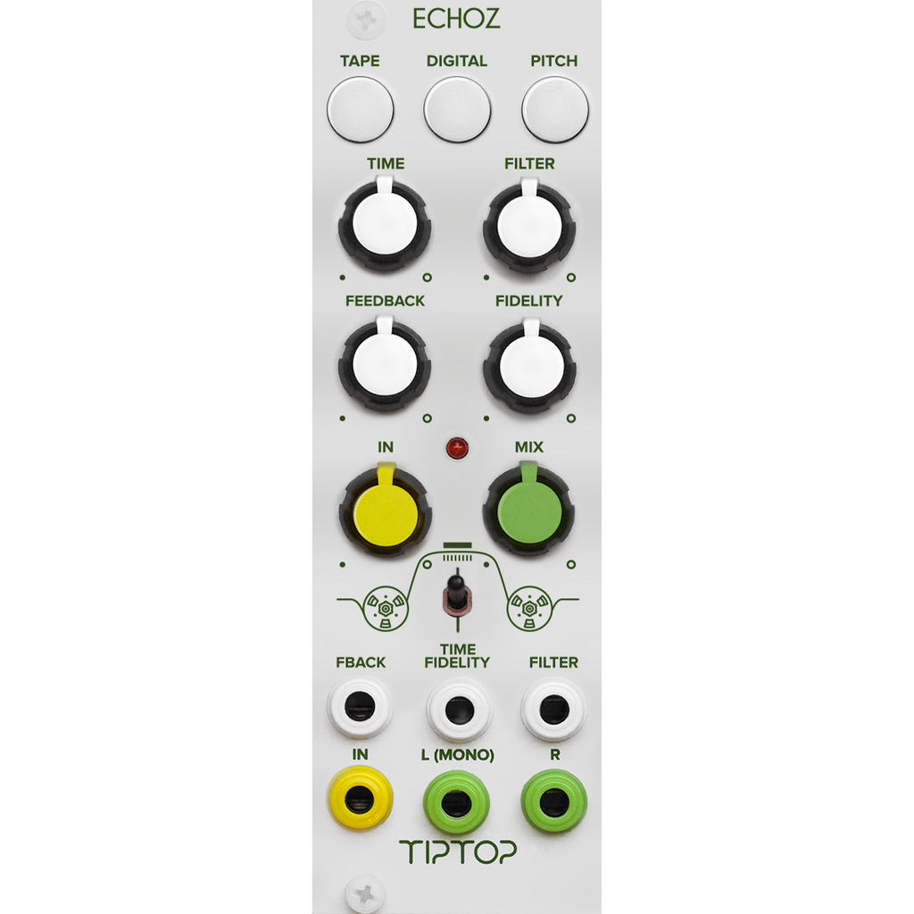 TipTop Audio ECHOZ (White) - Time Delay Effect