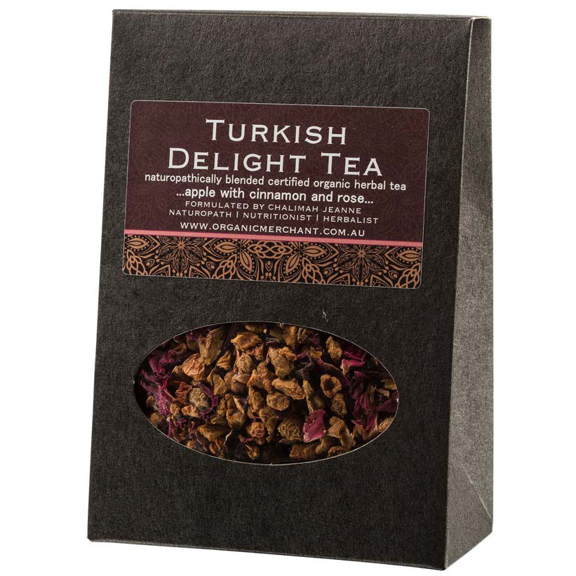 Turkish Delight Tea - Organic Apple Tea 80g Box