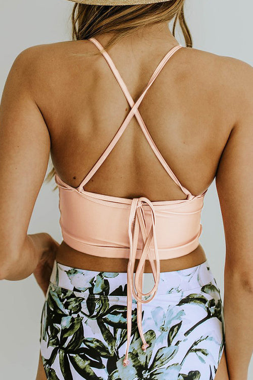Viegal Summer Mood Printed Neckhalter Bikini (3 colors)