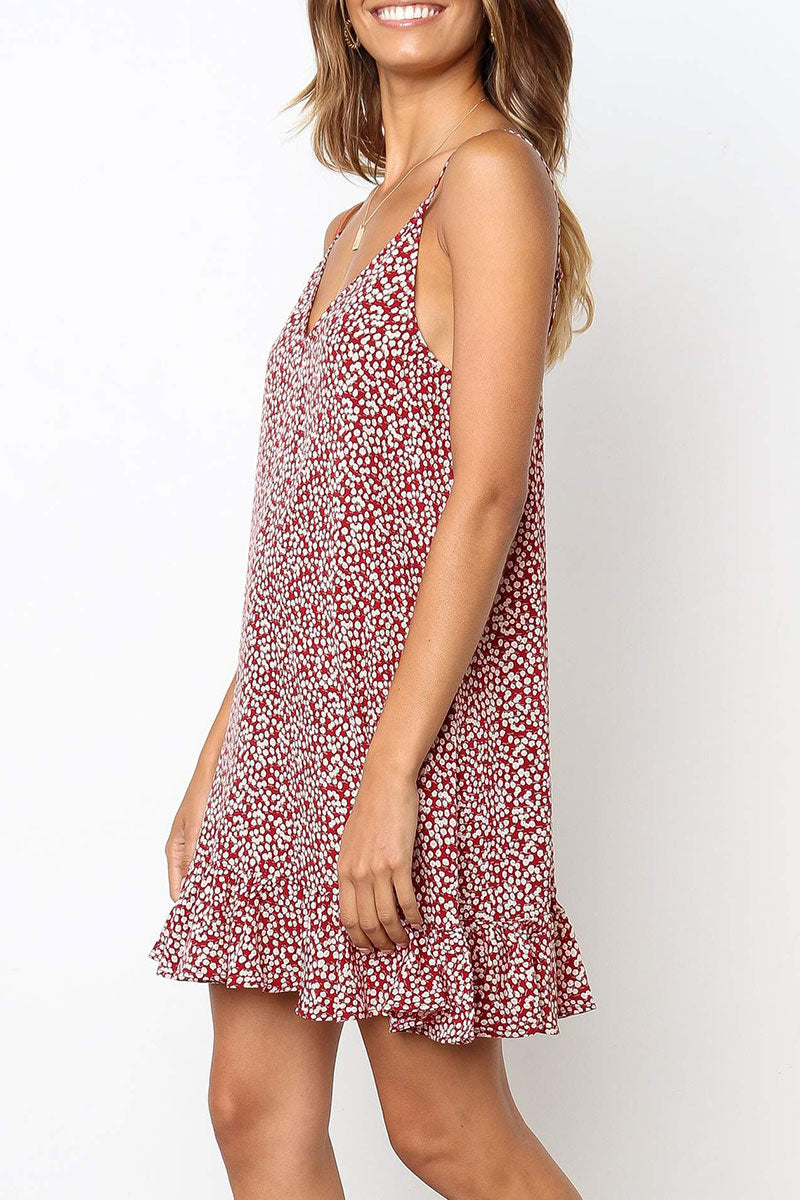 Viegal Floral Printed Slip Dress