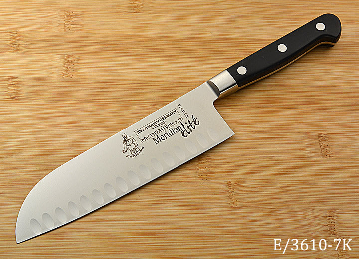"7"" Hollow Ground Santoku"