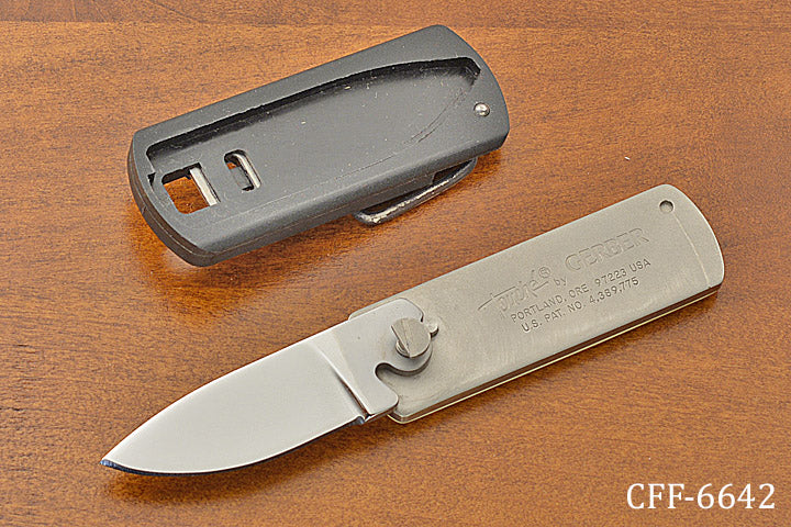 """Touché"" Belt Buckle Knife"
