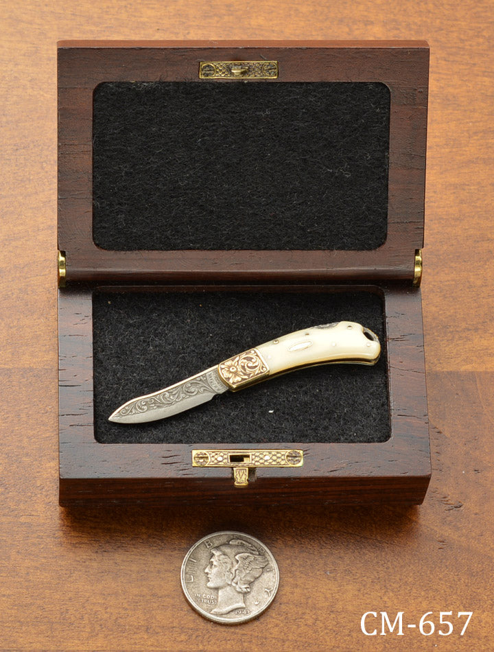 Miniature Lock Blade Folder