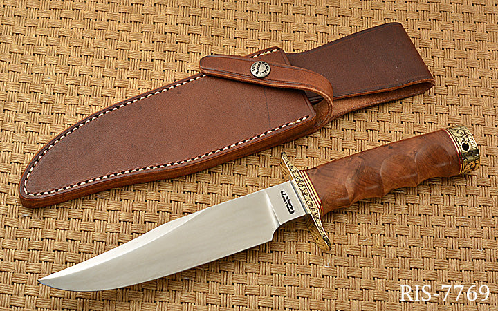 Perdue Engraved Nordic Knives Special Bowie