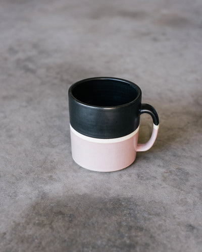 Hand Thrown Coffee Mug (Rose)