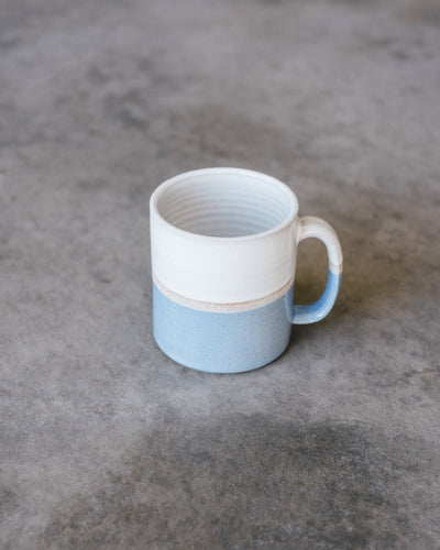 Hand Thrown Coffee Mug (Blueberry)