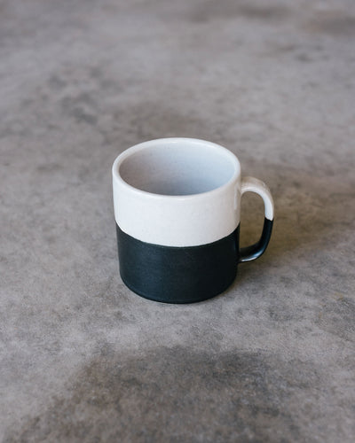 Hand Thrown Coffee Mug (Cane)
