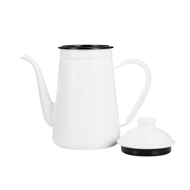 Kalita Enamel Dragon Neck Kettle