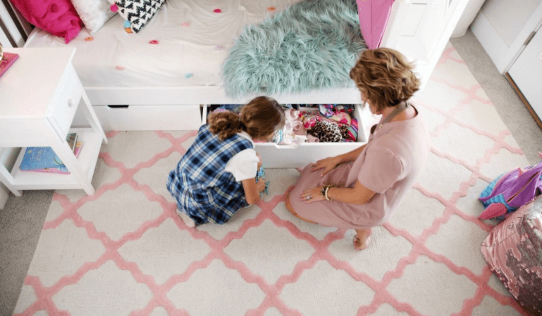 kids beds with storage and storage furniture