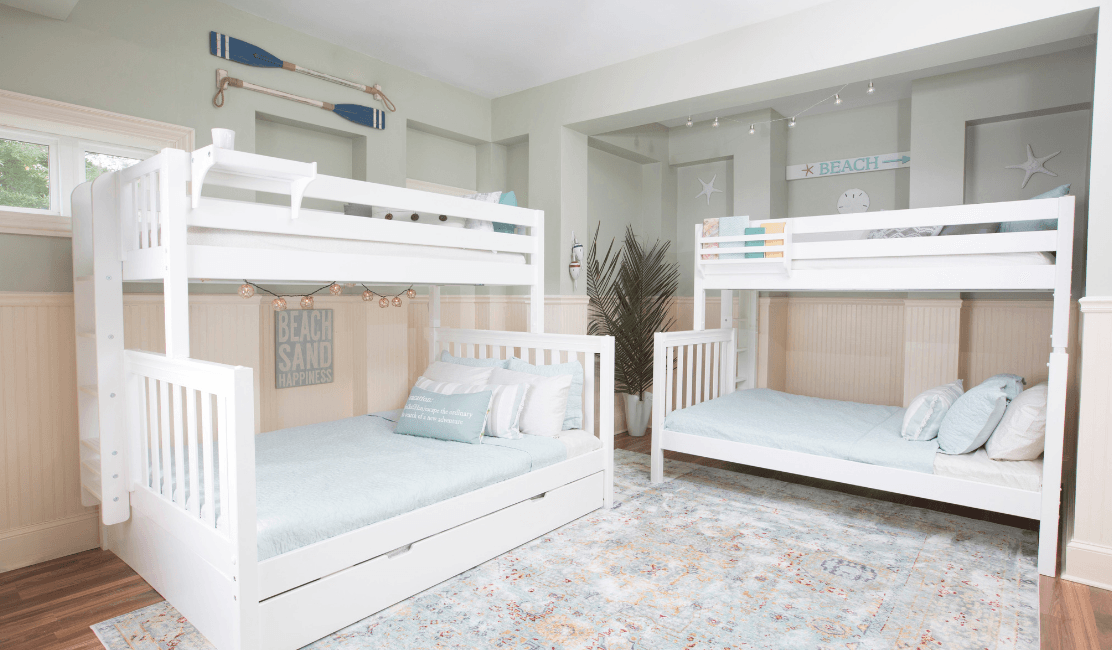 Queen Bunk Beds for the Whole Family!
