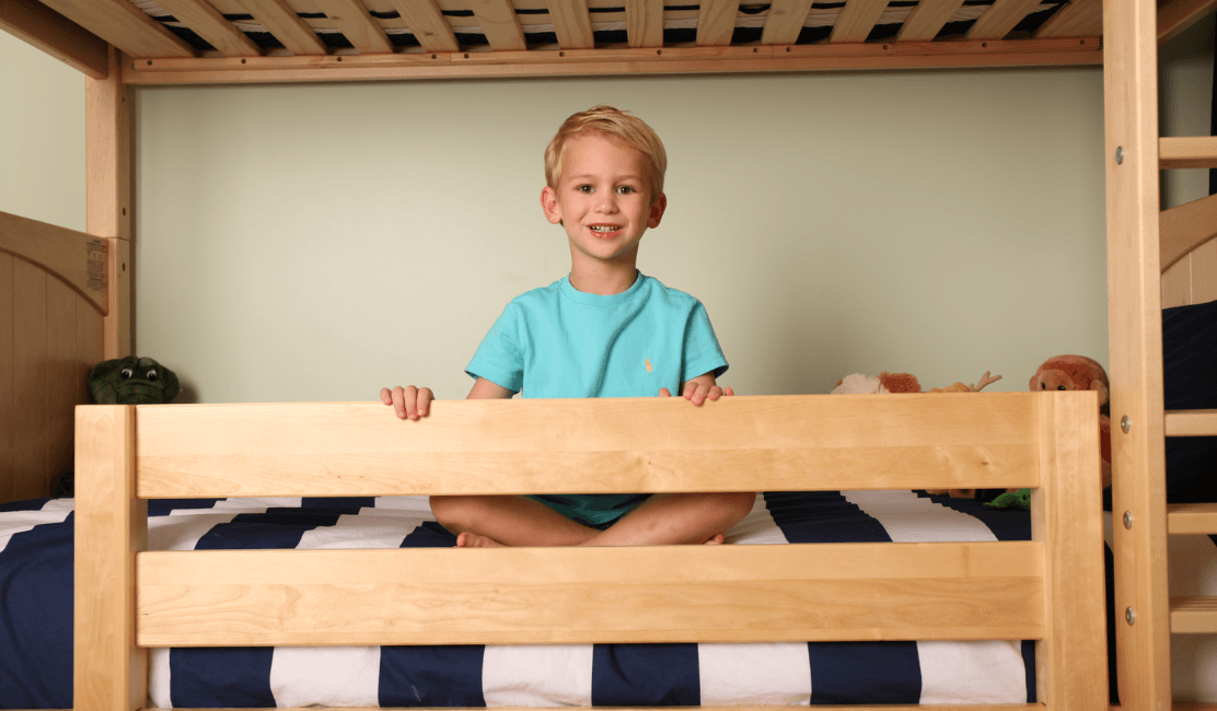 Tall Bunk Bed For A Growing Boy Mymaxtrix Story Maxtrix Kids
