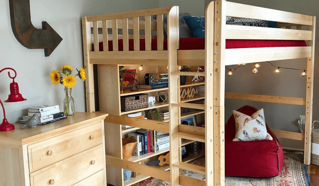 Tall Beds & Long Beds for Kids Rooms | Maxtrix Kids